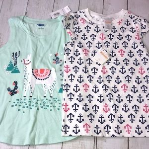 Bundle of 2 NEW tops Gymboree/old navy size 4